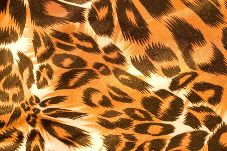 Leopard silk texture (as a background) photo