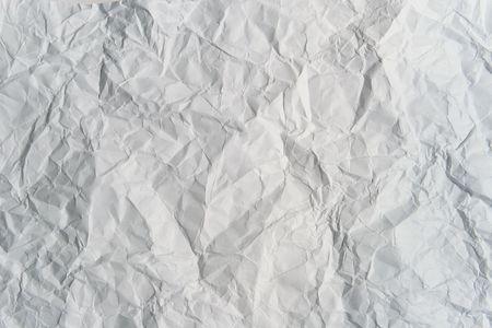 Crumpled light gray paper
