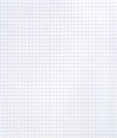 Blank squared notebook sheet Stock Photo - 3961113