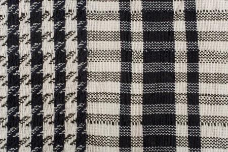 keffiyeh: Closeup of a keffiyeh pattern (as a black and white fabric background)