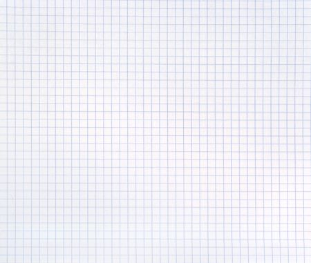 Blank squared notebook sheet Stock Photo - 5262350
