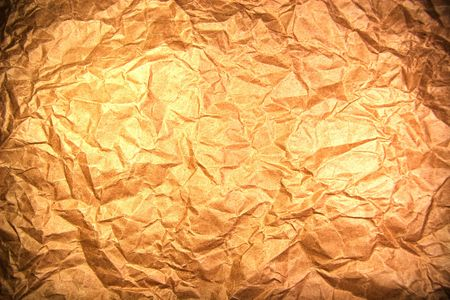 Old crumpled paper with dark edges Stock Photo - 5277436