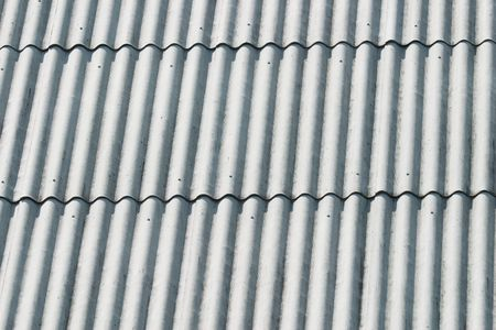 Closeup of a slated roof (as a background or texture) photo