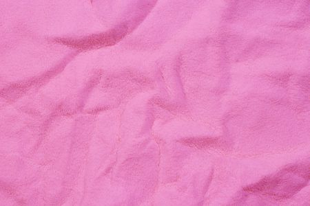 Pink chamois leather (as a texture or background) photo