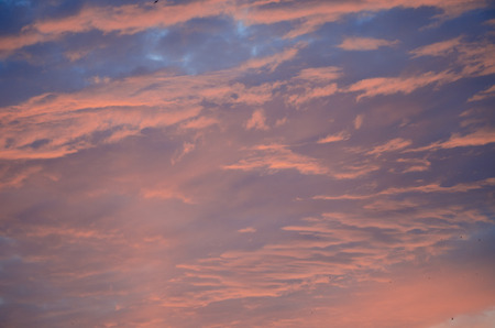 Beautiful sunset sky (as an abstract background)