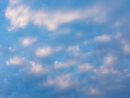 Abstract blue blurred background resembling a cloudy sky