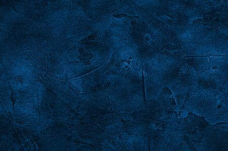 Marble or concrete background of classic blue color (concept of Classic Blue as the Color of the Year 2020)