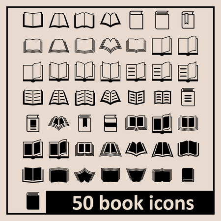 bibles: Book icons Library icons Education icons Reading icons Learning icons Book pictogram Knowledge icons