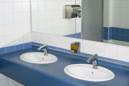 Modern interior of private restroom Stock Photo - 4926337