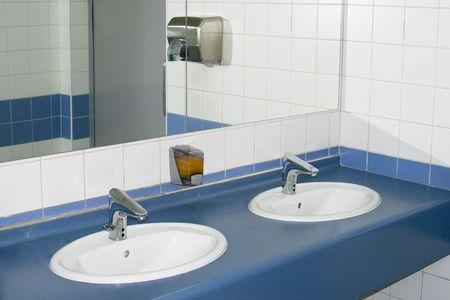 interior of private restroom Stock Photo - 5042669