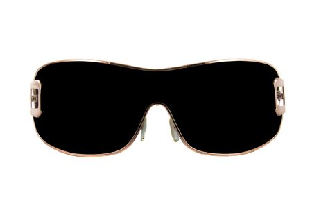 modern fashion sunglasses isolated over white background photo