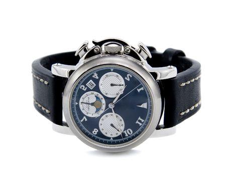 cronografo: Reloj cron�grafo fondo blanco aisladas