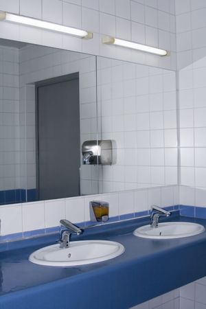 Modern interior of private restroom Stock Photo - 5551186