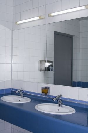 Modern interior of private restroom Stock Photo - 5569516