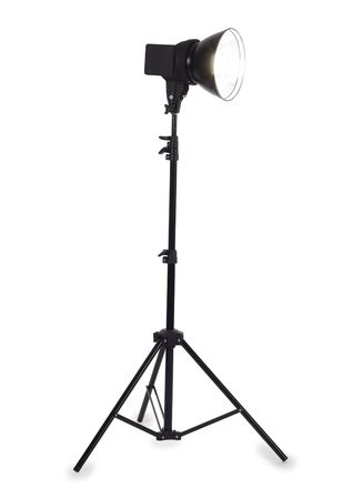 Studio strobe on white background Stock Photo - 7494697