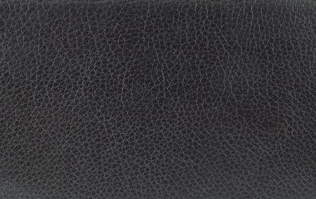 black leather texture. Stock Photo