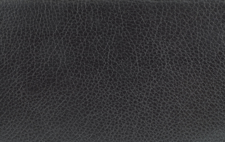 black leather: black leather texture. Stock Photo