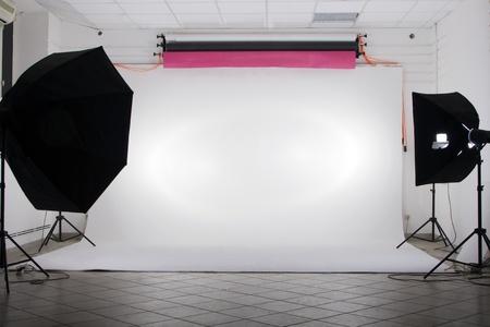 studio photo: The studio Stock Photo