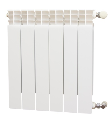 Radiator isolated over a white background Stock Photo - 13017009