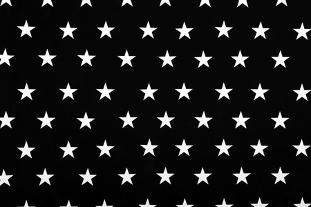 Black and white texture with five-pointed stars Stock Photo - 13019423