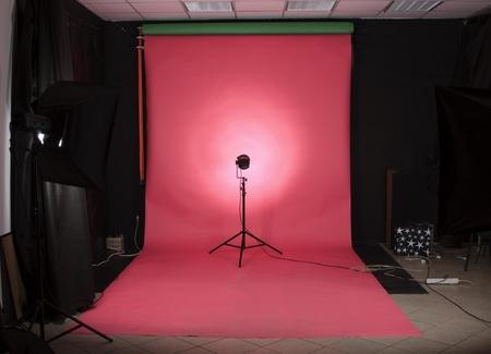 The studio Stock Photo