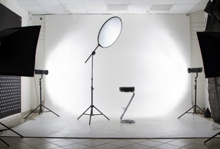 photo of accessories: The studio Stock Photo