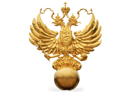 double headed: the Russian State Emblem - a double headed eagle