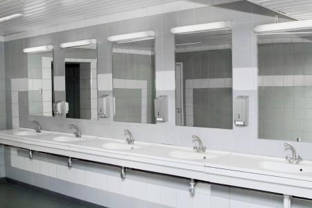 interieur van prive toilet