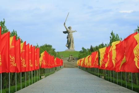volgograd: Mamayev barrow Memorial in Volgograd