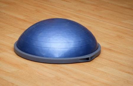 gym ball: Bosu ball (modern gym ball) Stock Photo