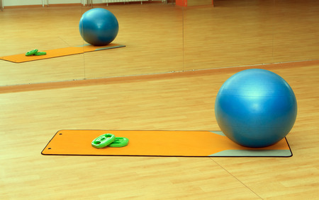 collection of fitness equipment photo