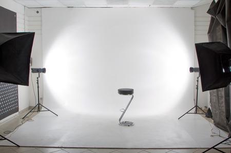 現代の写真とビデオのスタジオ 写真素材