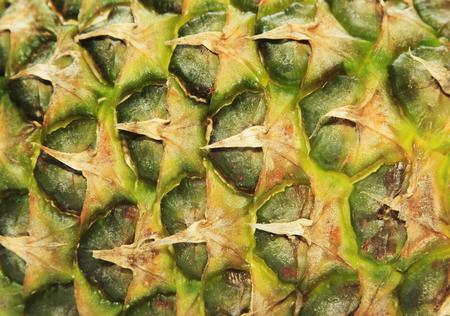 Close up texture of fresh ripe pineapple Stock Photo
