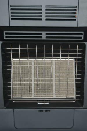 gas fireplace: metal type infrared gas furnace new