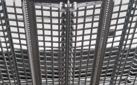 lattice for kitchenware container as structure for technical background