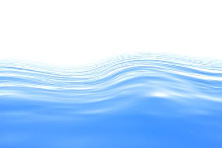 render: Blue water. Render