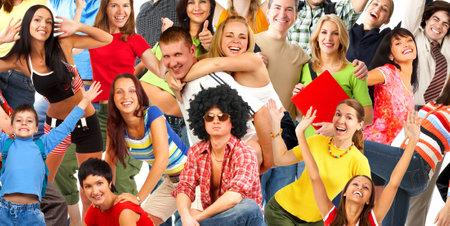 Happy funny people. Stock Photo - 4823401