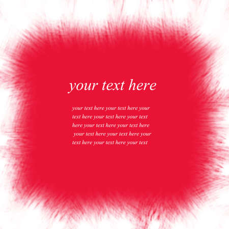 Red abstract background for text message