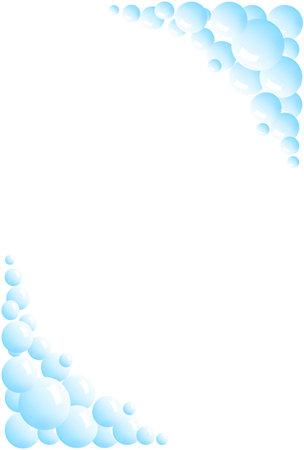 Blue ball  background