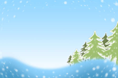 Christmas blue background with snowflakes  Stok Fotoğraf