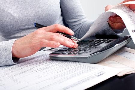 taxes: Llenar el formulario 1040. Est�ndar impuestos del ingreso de Estados Unidos