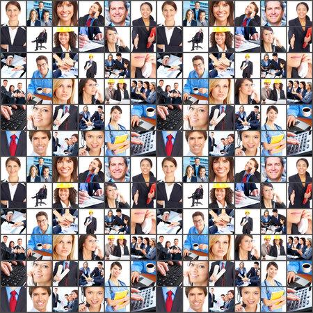diversidad: Sonriente de los trabajadores personas. Empresario, equipo de negocio, m�dico, servicio al cliente