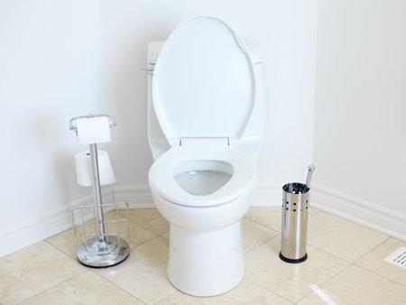 Modern flush toilet. Bathroom Stock Photo - 6574144