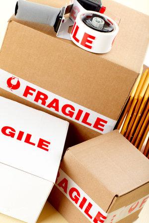 parsel: Fragile delivery service.