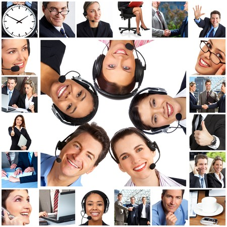 service center: Business  people.  Businessmen and business women