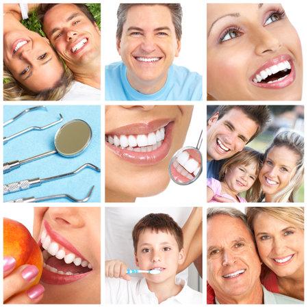 dientes blanqueamiento, cuidado dental, cepillado de dientes  Foto de archivo - 7726441