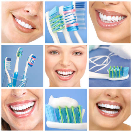 smile teeth: teeth whitening, tooth brushing, dental care