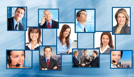 Business people. Business team. Stock Photo - 8074331