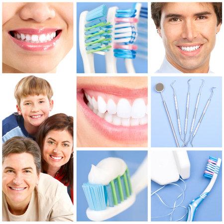 adult brushing teeth: teeth whitening, tooth brushing, dental care