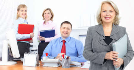 business people working  in the office Stock Photo - 8617134